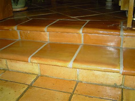 mexican saltillo tile pictures and installations