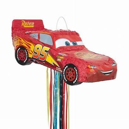 Pinata Cars Disney Pull String Mcqueen Lightning