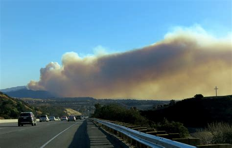coverage  multiple wildfires burning  southern