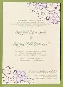 wedding invitation wording wedding invitation wording With wedding invitations wording from both parents