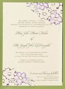 wedding invitation wording wedding invitation wording With both parents names on wedding invitations