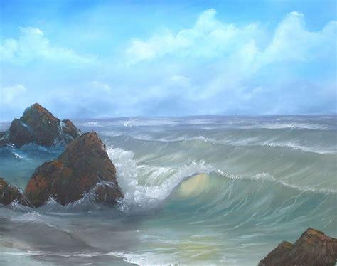 Bob Ross Seascape Paintings