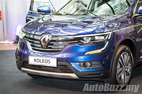 renault koleos 2016 black 2016 renault koleos 2 5l launched in malaysia priced at
