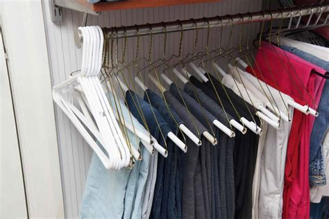 Hangers In Closet by Organizing The Master Closet 11 Closet Tips Heartwork