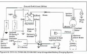 Small Engine Ignition Switch Wiring Diagram