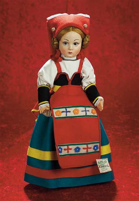 wonderful   italian felt character doll