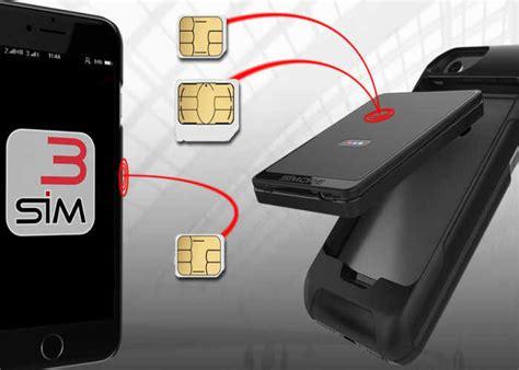 triple sim smartphone cases sim adapter