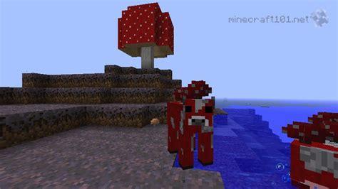 mushrooms minecraft