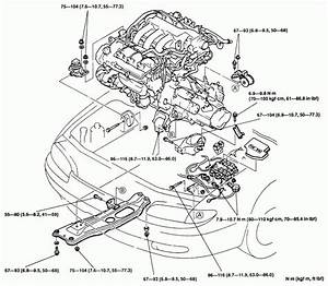 91 Mazda 323 Motor Mount Diagrams