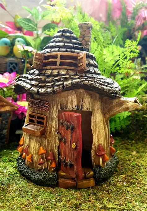 fairies  tree house fairy gardens uk