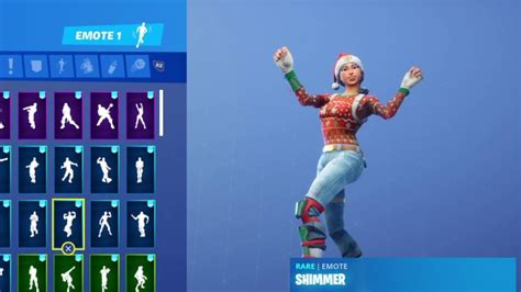 Nog Ops Skin Showcase With All My Dances Youtube