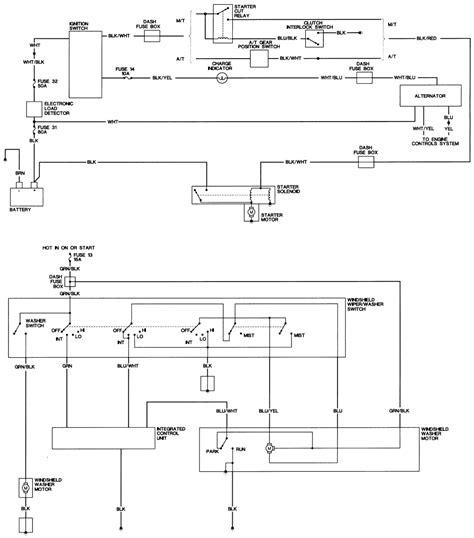 Honda Civic Wagon Wiring Diagram 1988 honda civic wagon electrical troubleshooting manual