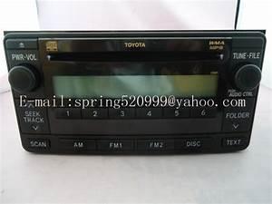 Aliexpress Com   Buy Brand New Fujitsu Ten Single Cd Turner 86120 0d281 For Toyota Corolla Prado