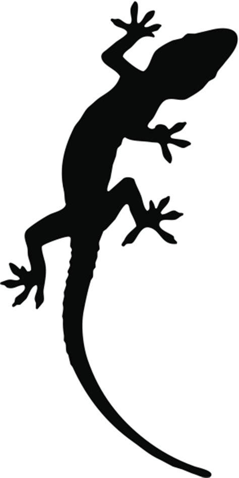 gecko silhouette cliparts   clip art