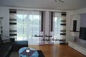 Säulen Fürs Wohnzimmer : blauer schiebevorhang f r die k che gardinen deko ~ Sanjose-hotels-ca.com Haus und Dekorationen
