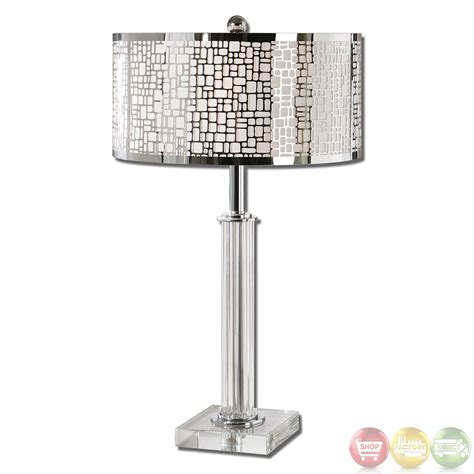 Lucius Polished Chrome Contemporary Table Lamp 265781 Ebay