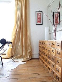 salvaged kitchen cabinets for 36 best repurposed card catalogs images on 7858