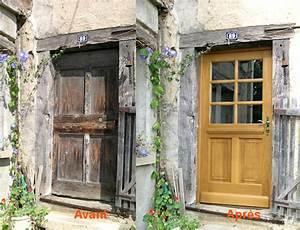 tacivcom porte entree renovation 20170928175959 With porte d entrée alu avec meubles de salle de bain style cottage