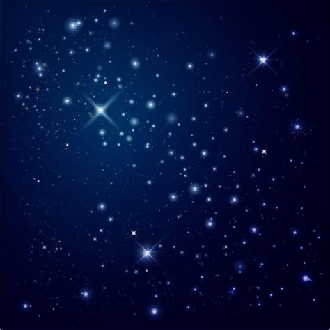 Vector Night Sky Stars Free Download