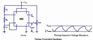 Vco Using The Timer 555 Circuit Diagram