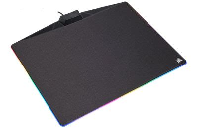 corsair gaming mm800c polaris tapis de souris corsair sur ldlc