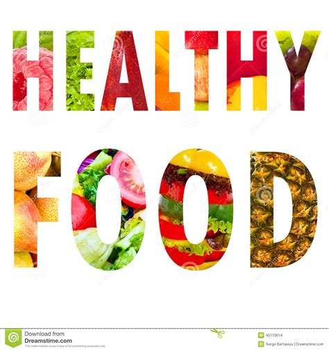 Healthy Food Word Text In Capital Letters On White Stock. Sep 2016 Banners. Tired Hungry Signs. Bow Banners. Where Can I Buy Big Posters. Valentine's Day Lettering. Event Marketing Banners. N64 Decals. Cornell Lab Murals