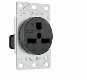 P  U0026 S 3801 Straight Blade Receptacle  Flush  2p 3