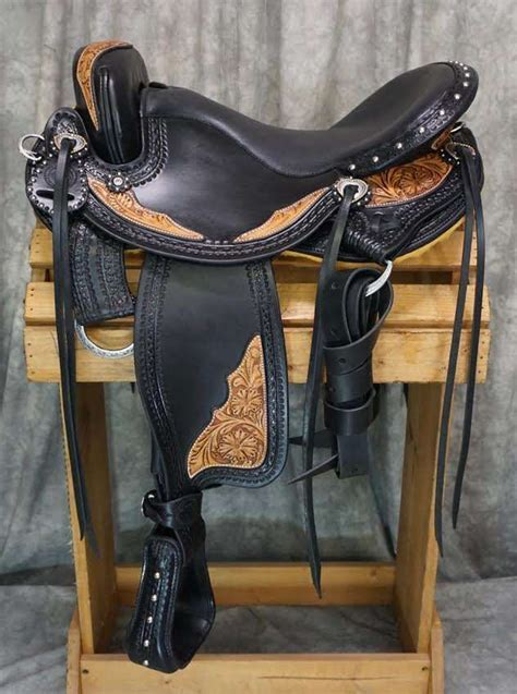 saddles western trail custom horse hornless saddle mountain tack quality discover trails