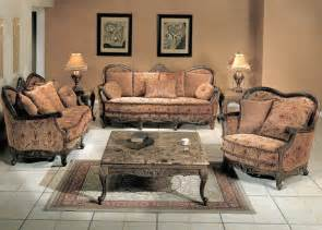 natalie finish antique style living room sofa and