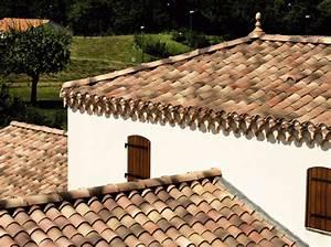 Mönch Und Nonne Dachziegel Preis : mediterrane baustoffe mediterrane dachziegel romanische tondachziegel ein dachziegel mit ~ Michelbontemps.com Haus und Dekorationen
