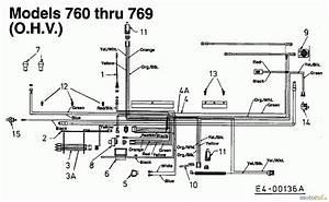 Mtd  U00e4ltere Modelle Rasentraktoren E  130 13da768n678  2001