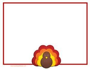 Thanksgiving Borders Free Clip Art