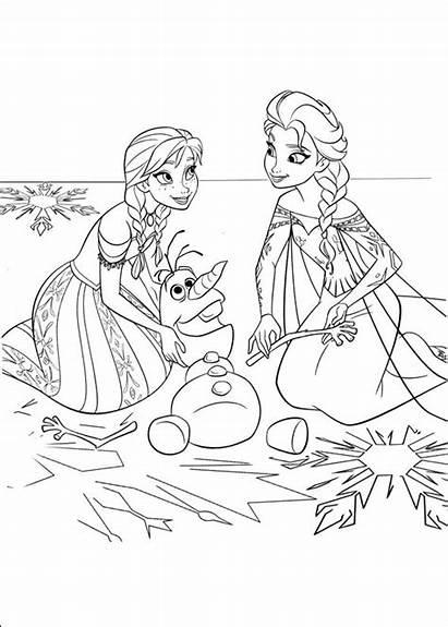 Colorear Frozen Dibujos Reino Hielo