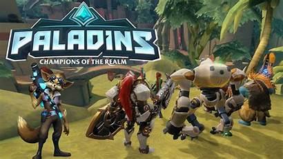 Paladins Shooter Play Gaming