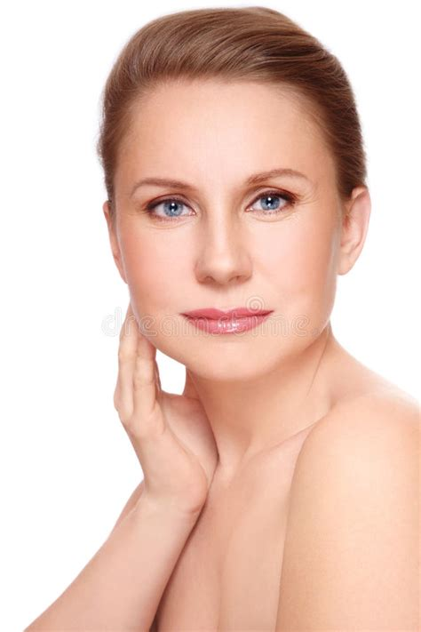 Beautiful Mature Woman Stock Photo Image Of Allure
