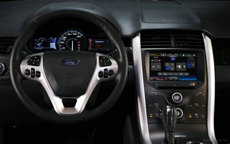 ford edge sport interior wallpaper hd car