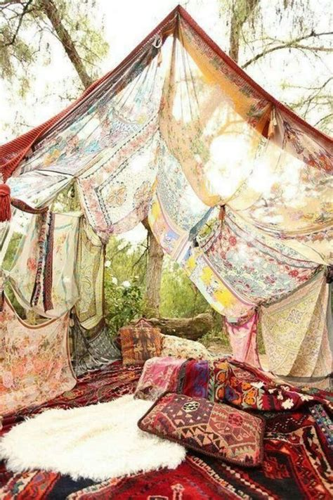 Style Room Design Inspiration Boho Indie Exterior Tent