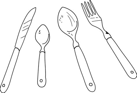 dessin d ustensiles de cuisine dessin de coloriage cuisine à imprimer cp08944