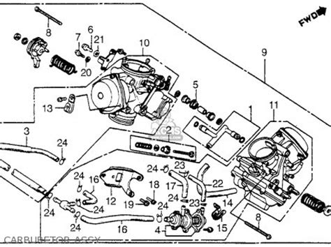 1993 Honda Shadow Wiring Diagram by Honda Shadow Carburetor Hose Diagram Hose Image And