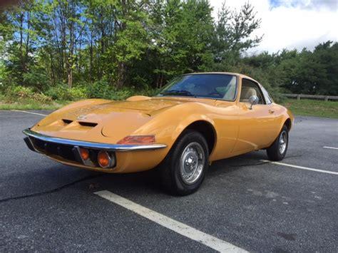 Opel For Sale by 1972 Opel Gt For Sale Classiccars Cc 898505