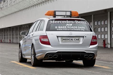 fotos van de nieuwe  amg estate  medical car