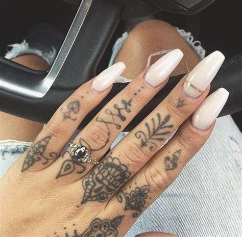inspiration finger tattoos   heart