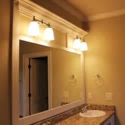 framed bathroom mirrors ideas custom framed bathroom mirror framing bathroom mirrors