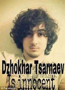 'Dzhokhar Tsarnaev is innocent' Facebook page attracts ...