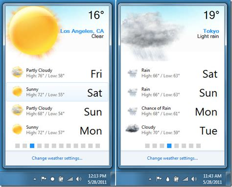 weather forecast cities sunny different forecaster zones shows cloud updates rain condition multiple areas