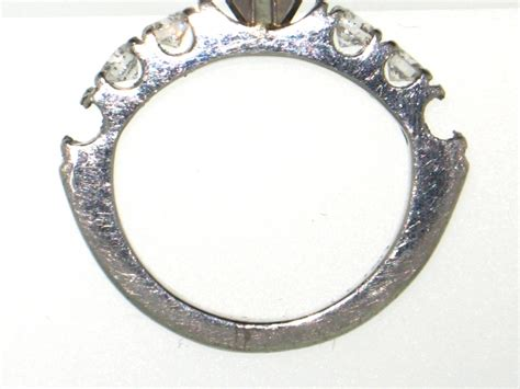 why platinum rings turn dull so fast