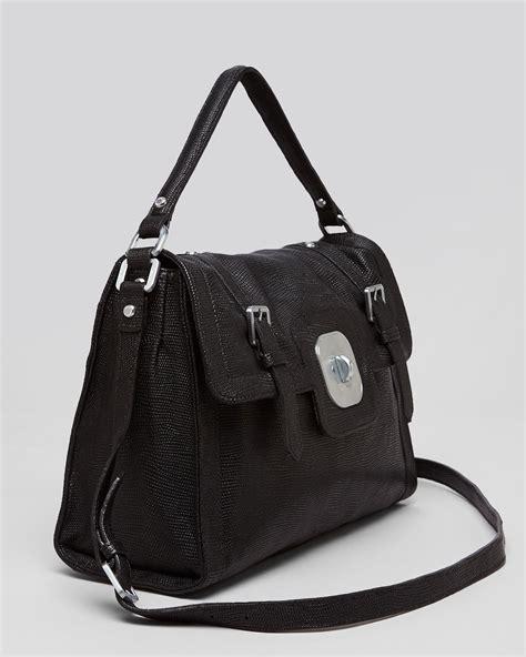longchamp shoulder bag gatsby sport long  black lyst