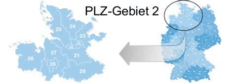 Postleitzahlen 25... In Deutschland