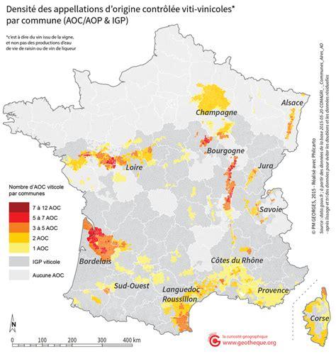 Carte Vin Aoc by Aires G 233 Ographiques Des Aoc Aop Data Gouv Fr