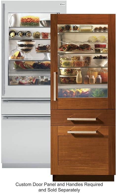 monogram appliances zikgnhii  glass door refrigerator outdoor kitchen appliances
